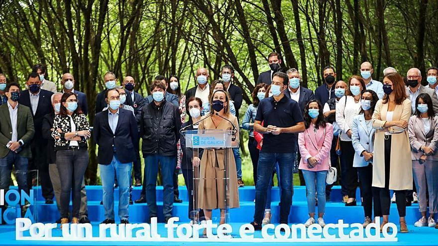Xunta y 75 municipios rurales reclaman al Gobierno equilibrio en el reparto de fondos europeos