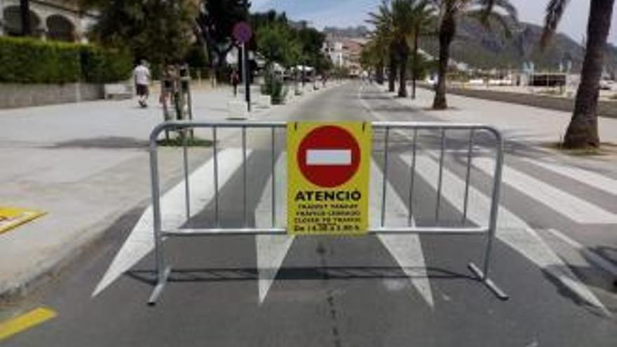 Strandpromenade in Port de Pollença wird länger zur Fußgängerzone