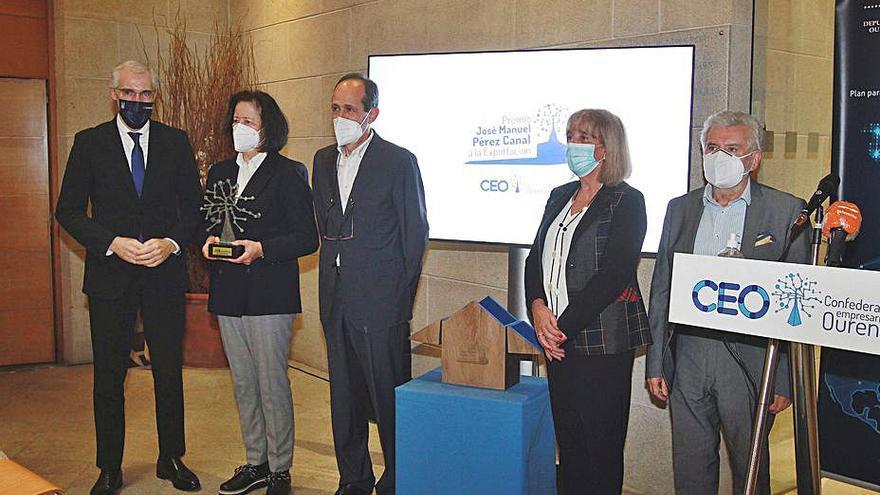 La bodega Godeval, galardonada con el Premio Pérez Canal