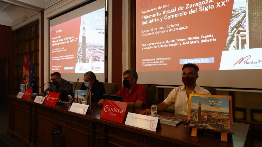 'Industria y comercio en el siglo XX', nueva entrega de la colección 'Memoria visual de Zaragoza'
