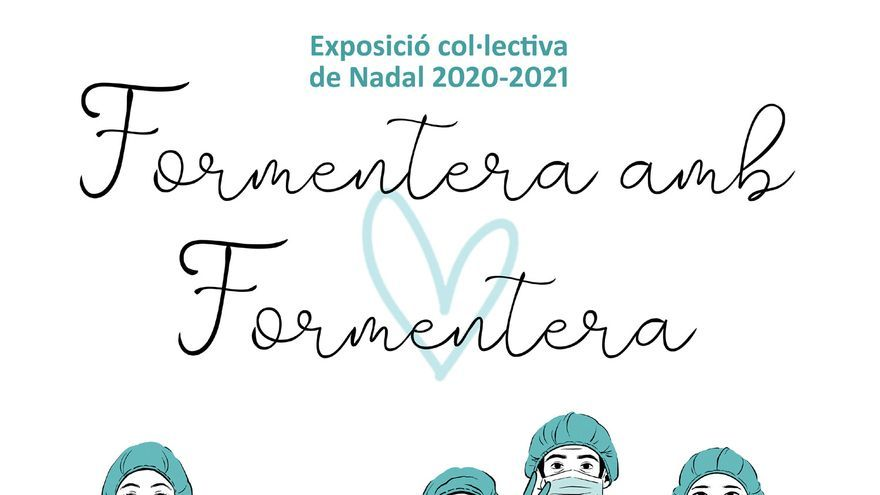 Exposición colectiva de Navidad: Formentera con Formentera