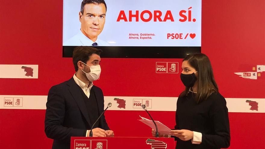 El PSOE de Zamora defiende las nuevas medidas estatales para combatir la pobreza en la provincia