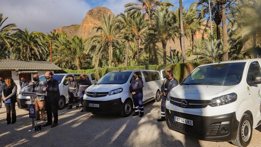 ILDO estrena tres vehículos nuevos tras perder sus furgonetas por las inundaciones de la DANA