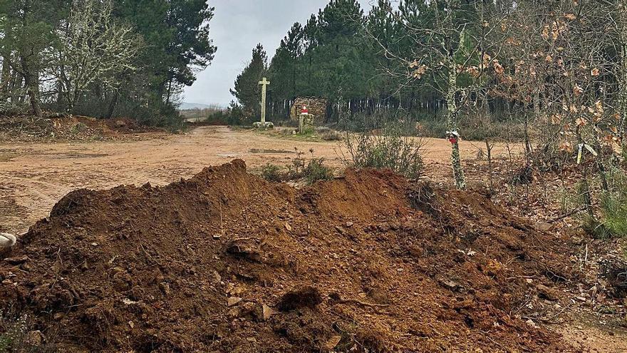 Portugal abre zanjas en caminos para impedir cruzar la frontera con Zamora