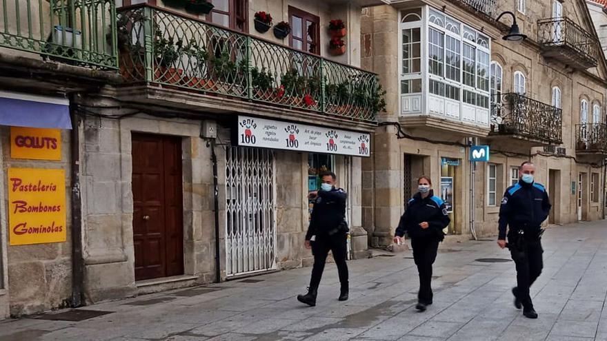 El estado de alarma se levanta con un solo aviso de botellón en Cangas y otro disuelto en Moaña