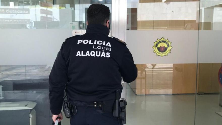 Un agente de Policía Local de Alaquàs.