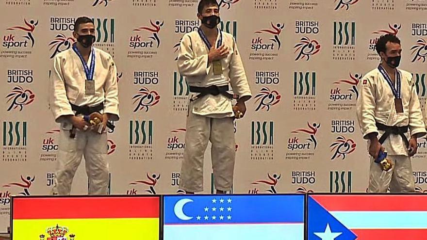 El judoca Sergio Ibáñez estará en Tokio 2021