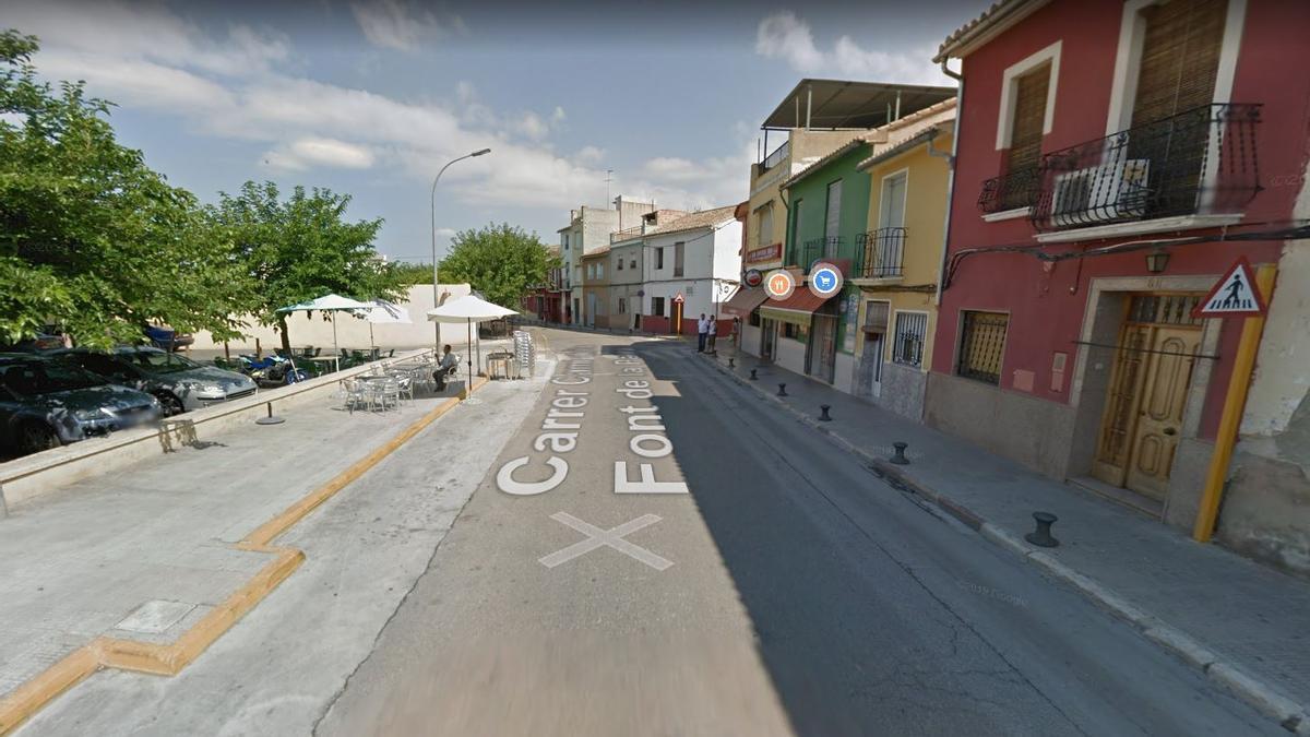 La pelea se produjo en la calle Font de la Parra