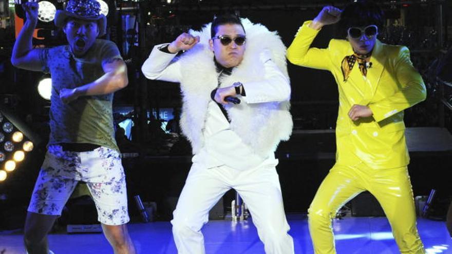 El nuevo tema de Psy, líder en descargas nada más estrenarse