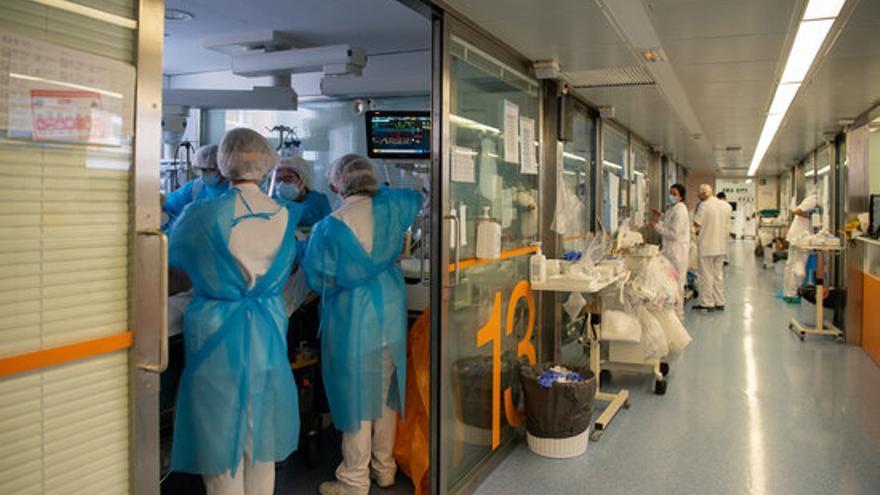 La pressió hospitalària baixa un dia més a Catalunya