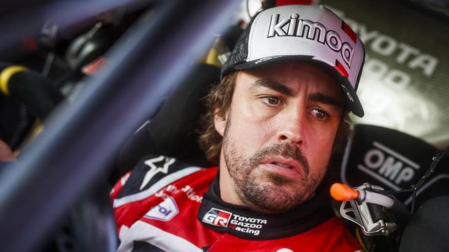 Alonso rodará con el Renault de 2018 el domingo y el lunes en el circuito de Abu Dabi