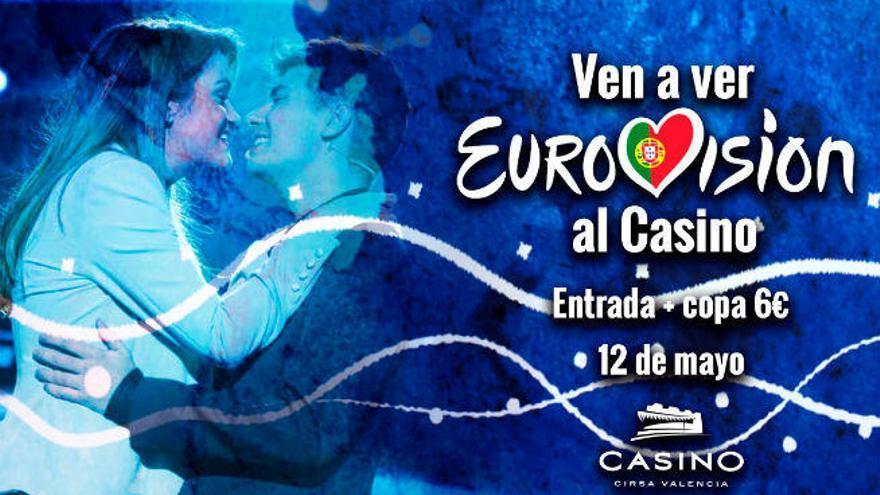 EuroFiestión: vive la final de Eurovisión 2018 con una fiesta en Casino Cirsa