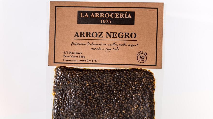 Preparació arròs La Arrocería 1975