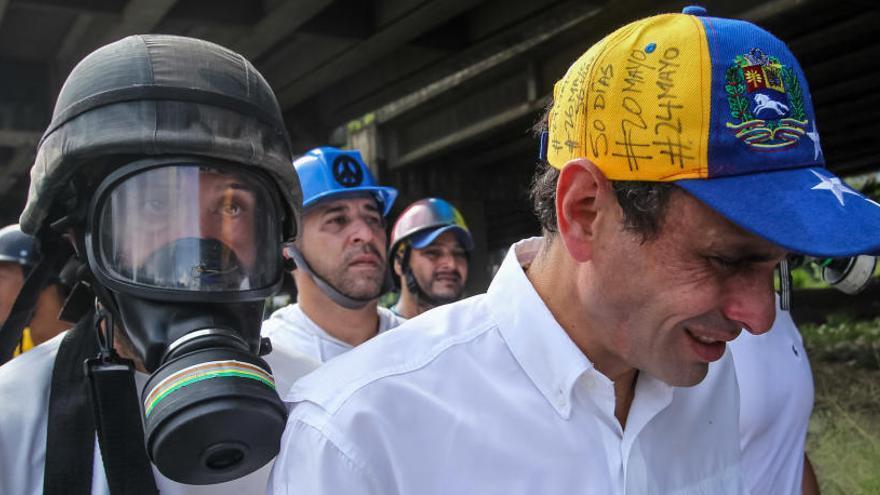 Capriles denuncia una agresión por parte de policías