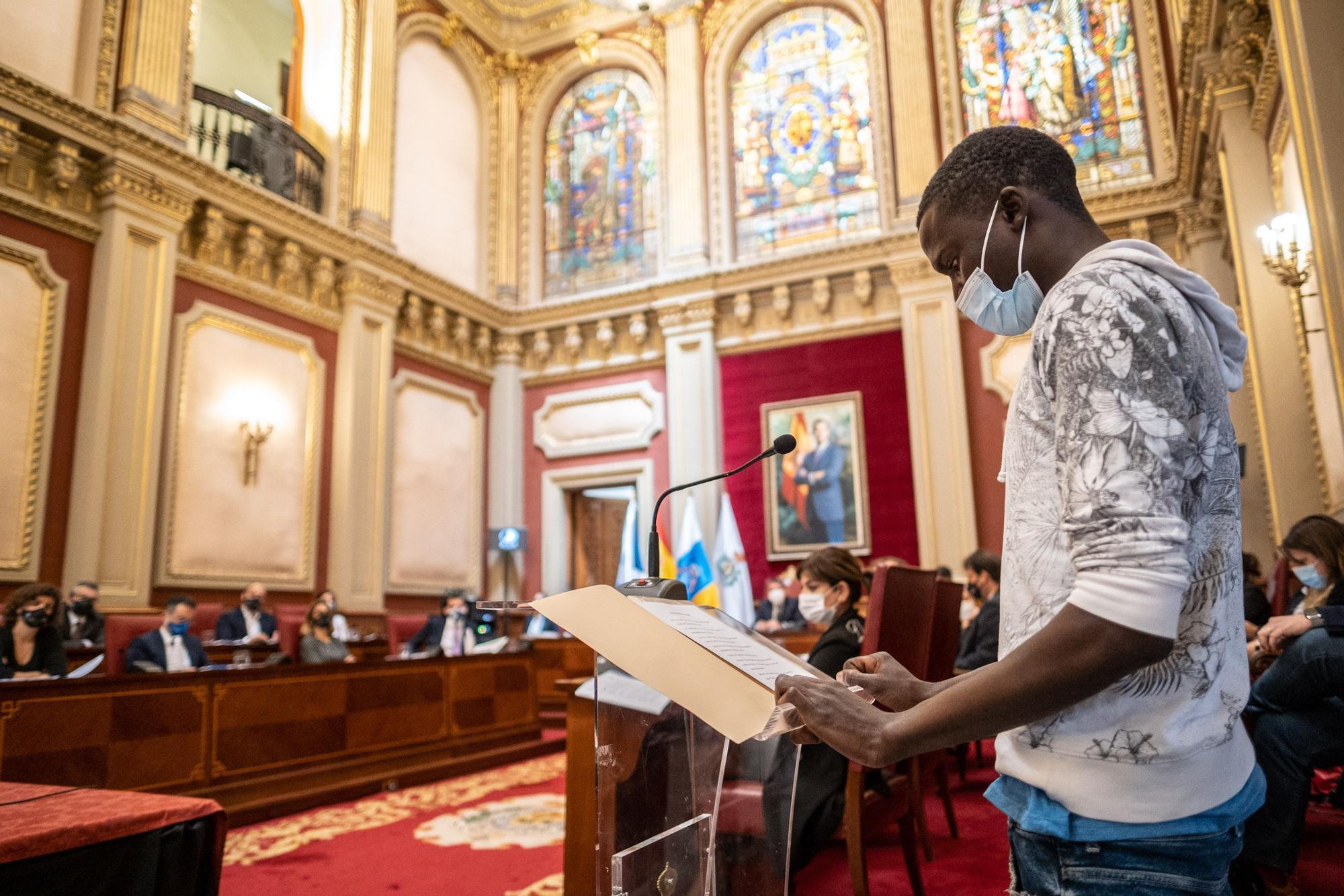 Pleno del Ayuntamiento de Santa Cruz