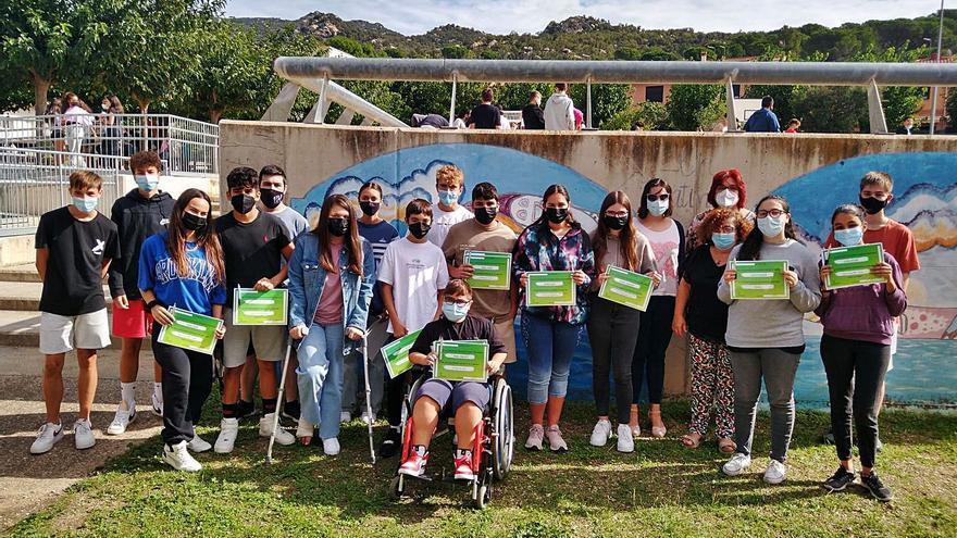 L'institut de la Jonquera distingeix l'alumnat premiat