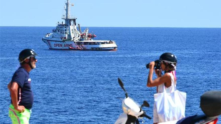 """Mallorca bereitet sich für Aufnahme der """"Open-Arms""""-Flüchtlinge vor"""