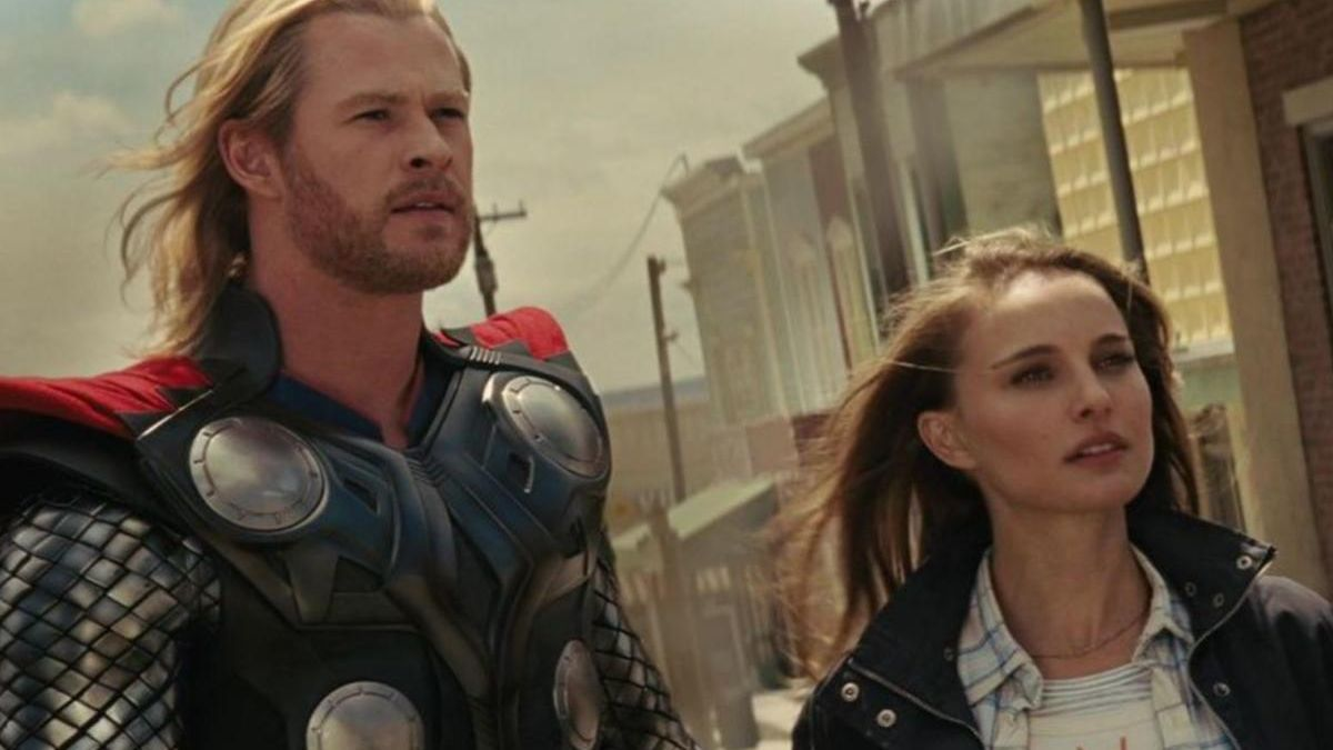Chris Hemsworth y Natalie Portman.