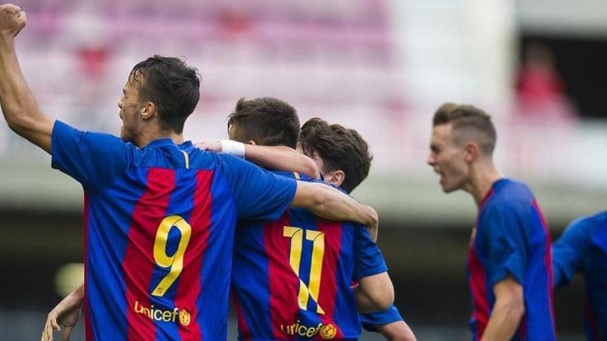 El Barça de Gabri goleja el Dortmund i accedeix als quarts de la Youth League