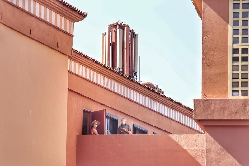 Seguimiento a los alojados en el Hotel H10 de Adeje. Salidas guaguas     28/02/2020   Fotógrafo: María Pisaca Gámez
