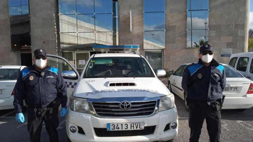La Autoridad Portuaria entrega más de 11.300 mascarillas de protección