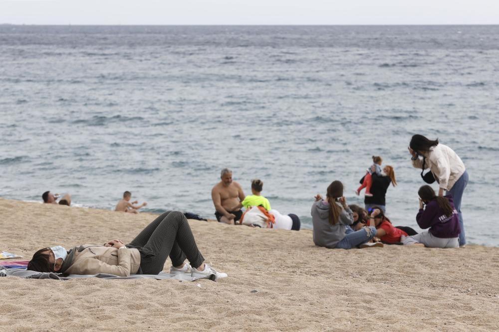 Platja d'Aro i Sant Feliu s'omplen de visitants per Pasqua