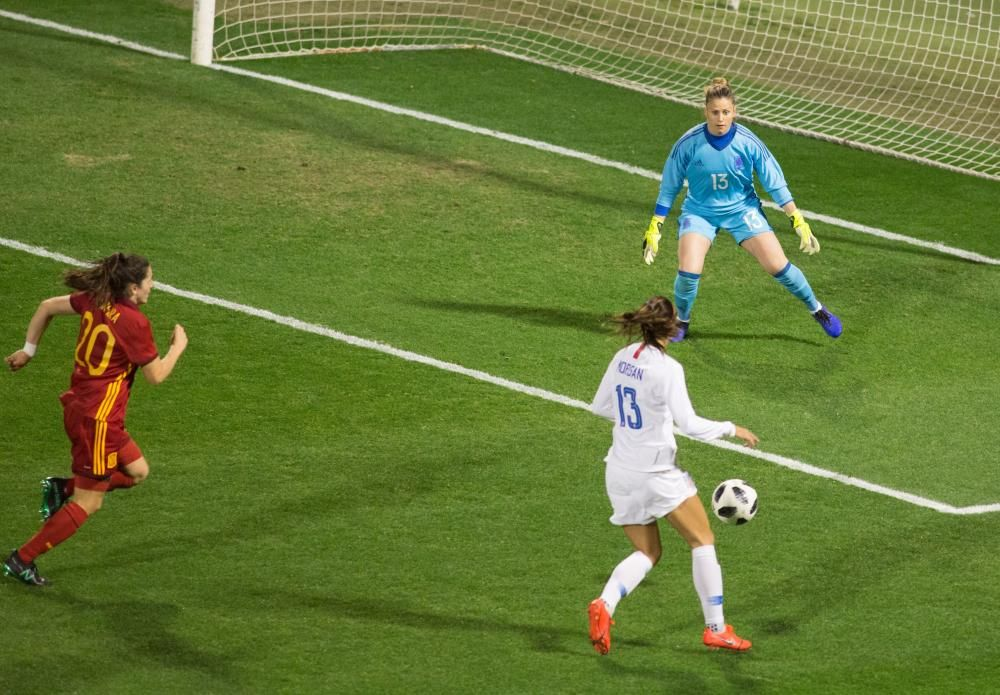 El Rico Pérez registra récord de asistencia a un partido de la selección femenina de fútbol
