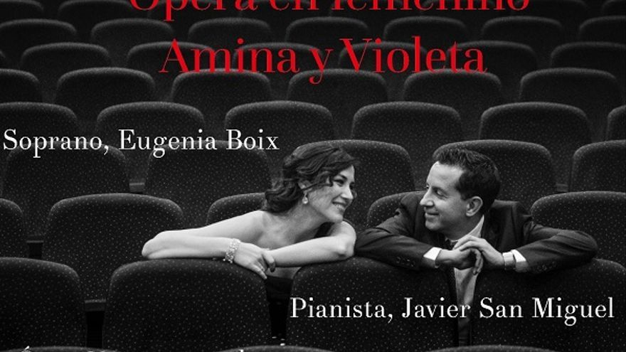 Ópera en femenino - Amina y Violeta
