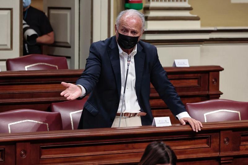 Pleno del Parlamento de Canarias (12/5/21)