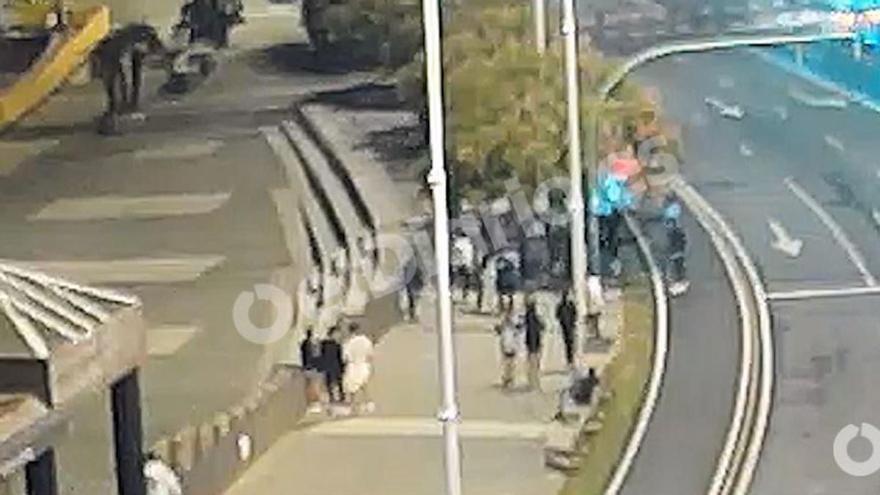 Els vídeos demostren que l'agressió a Samuel va ser un linxament