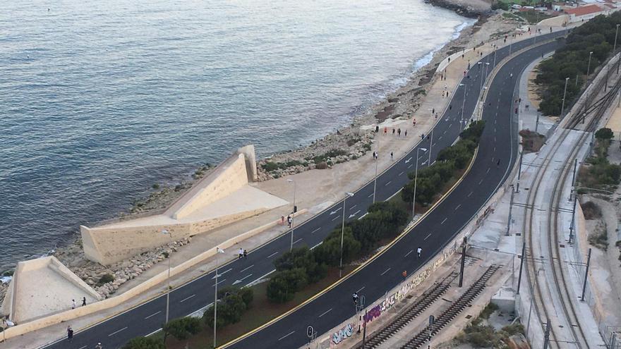 La Cantera de Alicante será peatonal de nuevo los domingos de mayo y junio por la mañana para facilitar los paseos y el deporte