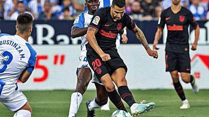 Vitolo pone fin a la maldición del Atlético de Madrid en Butarque