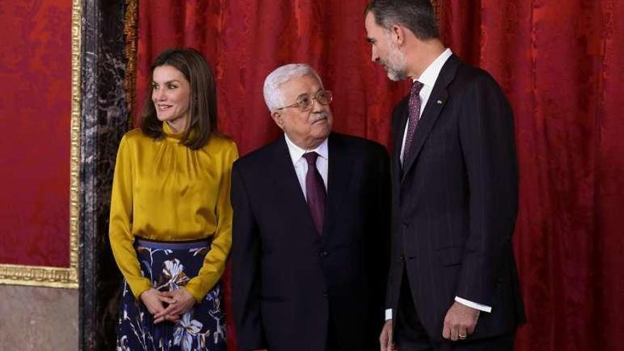 El Rey manifiesta a Abbas su apoyo a la aspiración de un Estado palestino