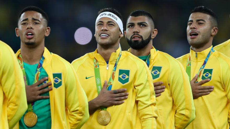 Brasil, oro olímpico en los penaltis
