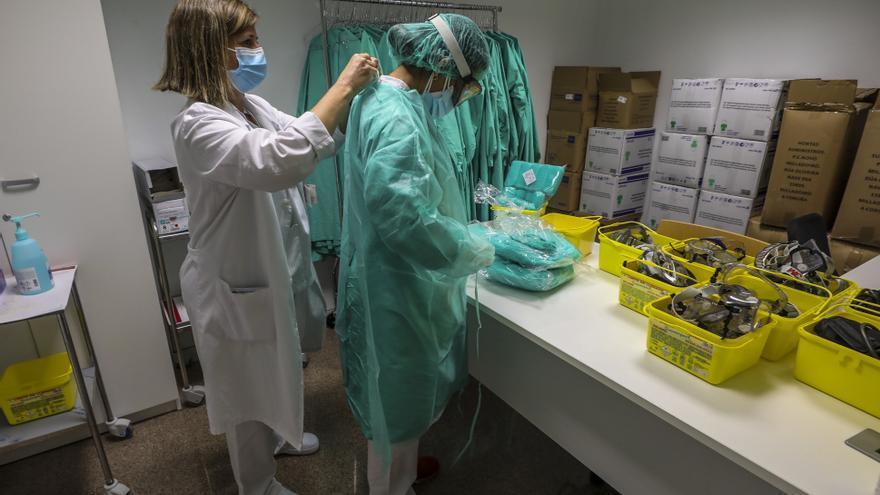 Sanidad notifica 1.272 casos nuevos de covid  en la provincia en dos días