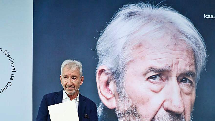 José Sacristán recibe en San Sebastián el Premio Nacional de Cinematografía 2021