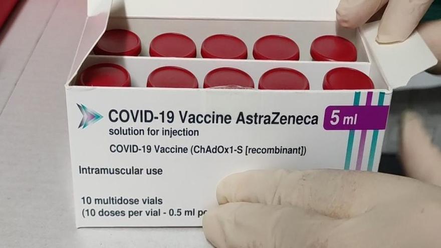 AstraZeneca envía este jueves a España 228.000 dosis de su vacuna