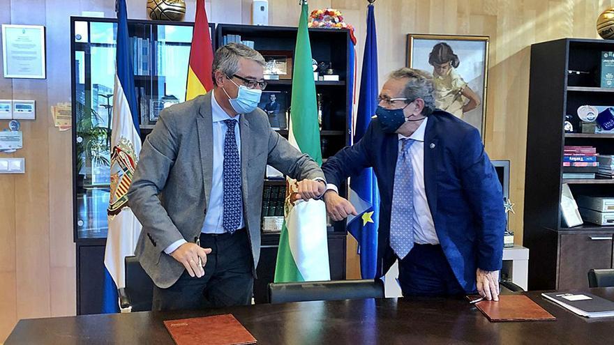 La Diputación y la UMA se alían para afrontar los desafíos tras la Covid-19