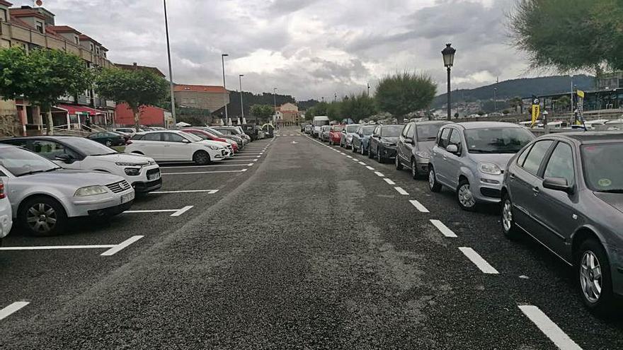 Los residentes en Combarro contarán con plazas de aparcamiento en la villa