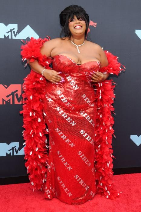 Lizzo, en los MTV Video Music Awards 2019