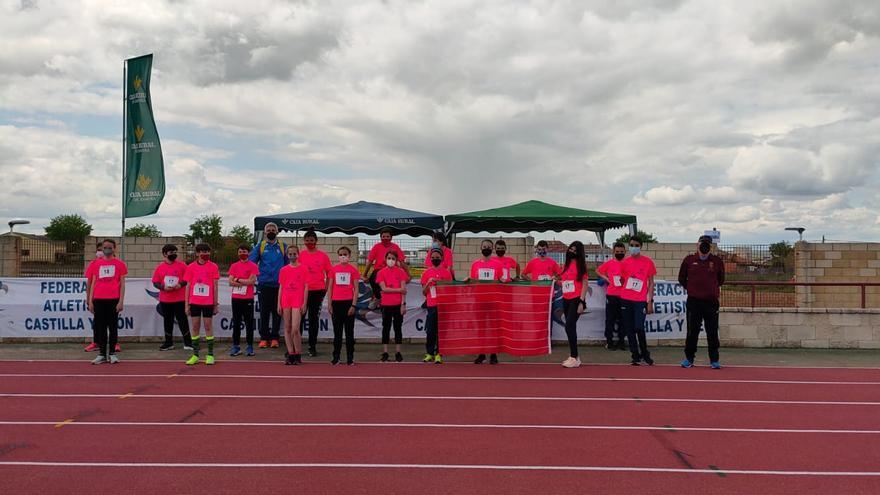 Zamora alcanza el séptimo puesto en el Regional Sub 14 femenino