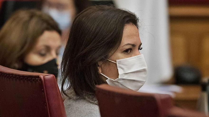 Convocado un pleno el 7 de abril para que Evelyn Alonso deje de ser edil no adscrita