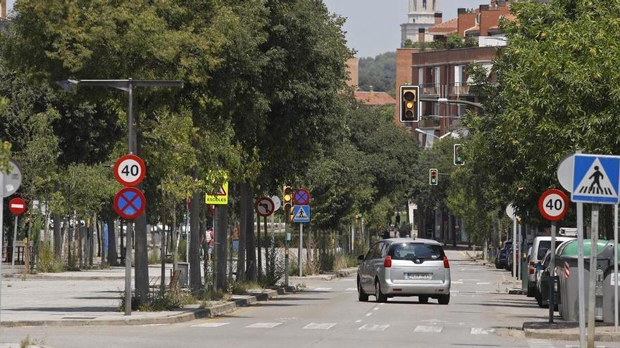 Girona pren mesures per reduir els accidents a l'avinguda Lluís Pericot
