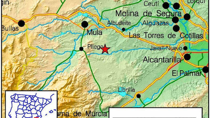 Cuatro terremotos sacuden la Región en apenas media hora