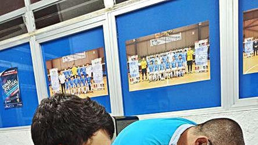 El Inversia A Estrada Futsal supera los tests para el amistoso contra el Santiago