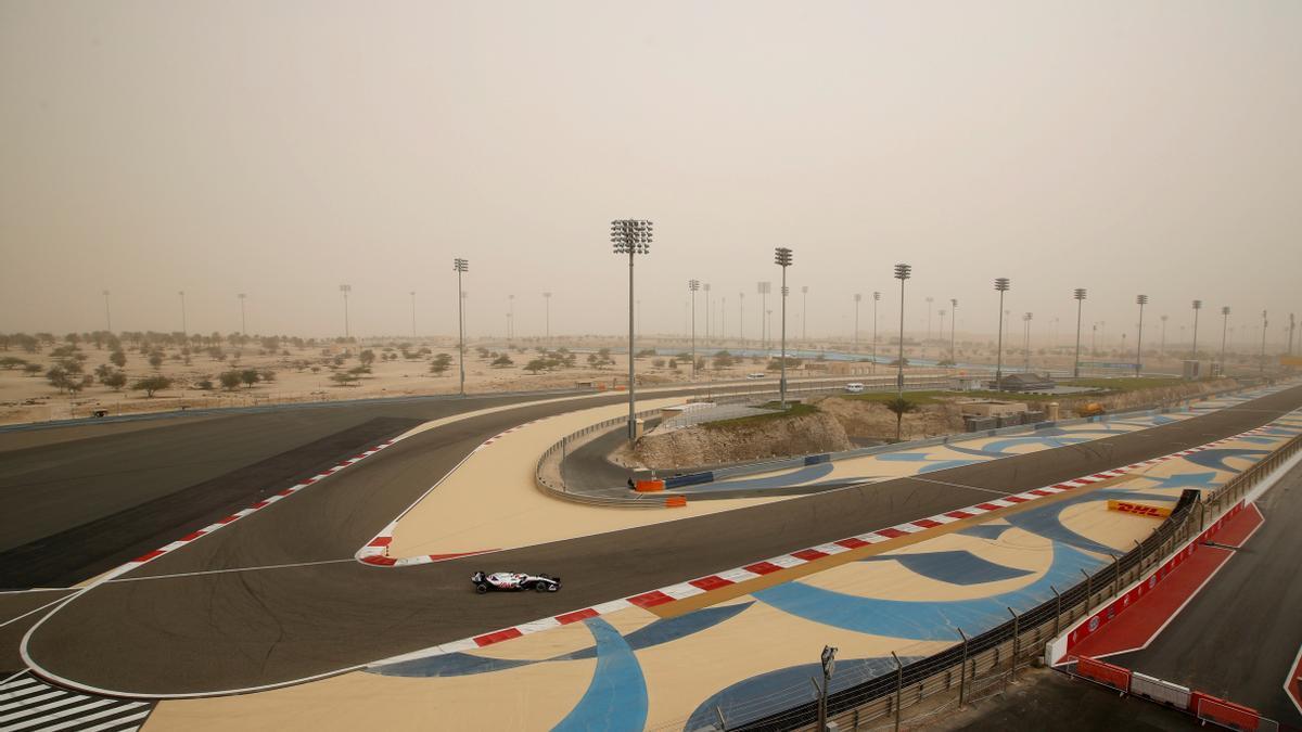 Test de pretemporada de Fórmula-1.