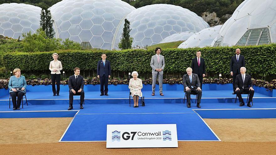 Els líders del G7 es conjuren per acabar amb la pandèmia de COVID-19