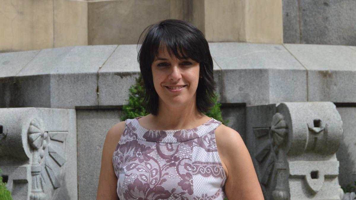 Paula Fernández Pena durante su etapa como senadora.