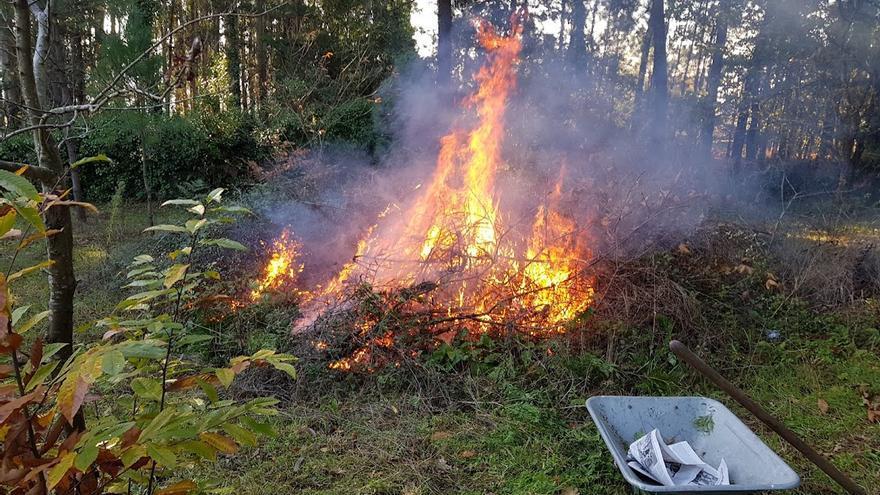 Comienza la campaña de quema de restos agrícolas
