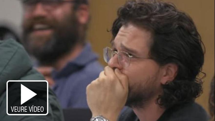 La sorprenent reacció de Kit Harington en conèixer el final de «Juego de Tronos»
